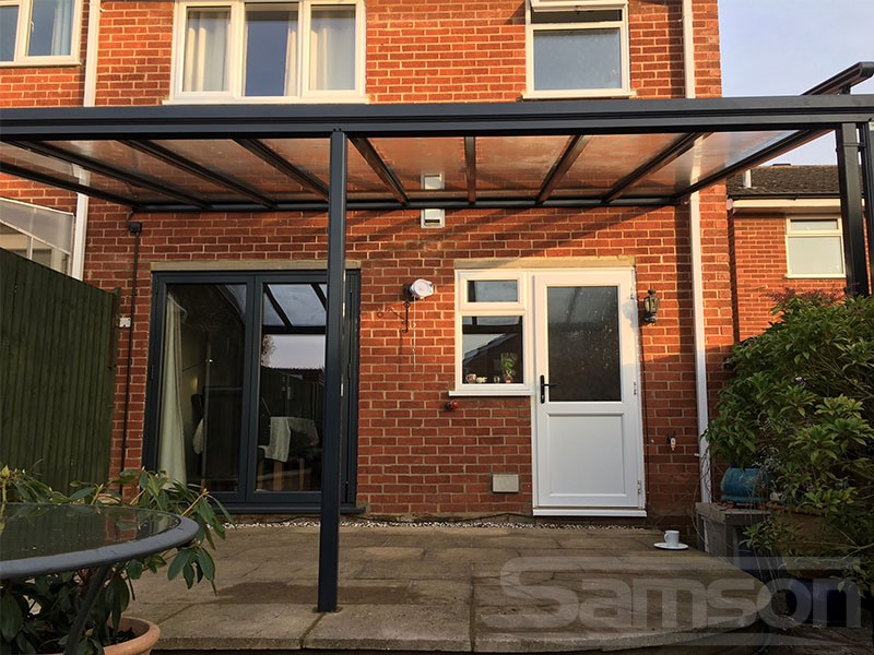 Terrace Cover Installation