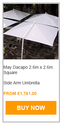 may side arm fixed umbrella
