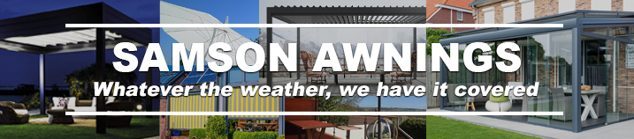 Samson awnings - UK leading specialist in canopies and awnings