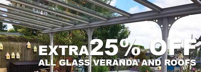 25% off Glass Verandas