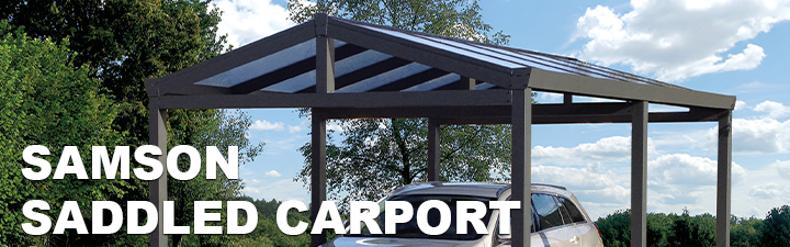 Samson Saddled Carport