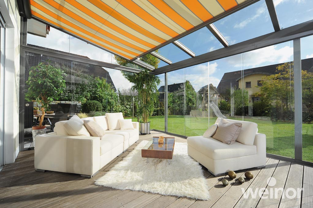 Weinor Terrazza Glass Roof Veranda From Samson Awnings