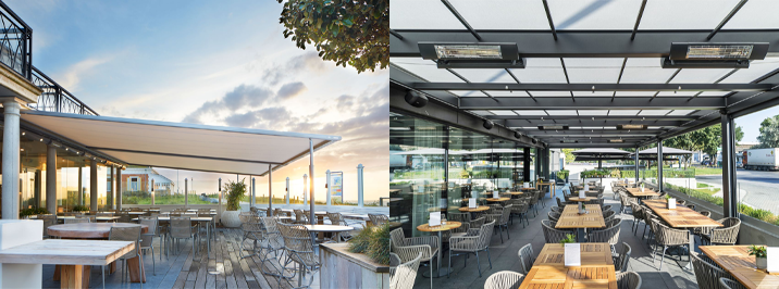 Commercial weather protection solutions