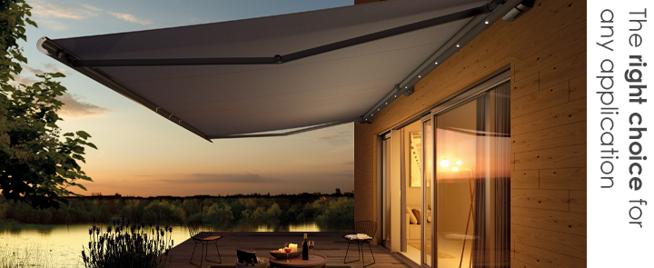 Weinor awning systems