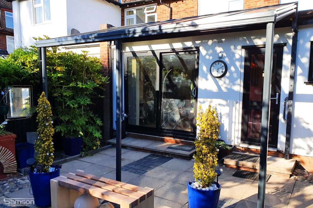 Small Glass Veranda for Home