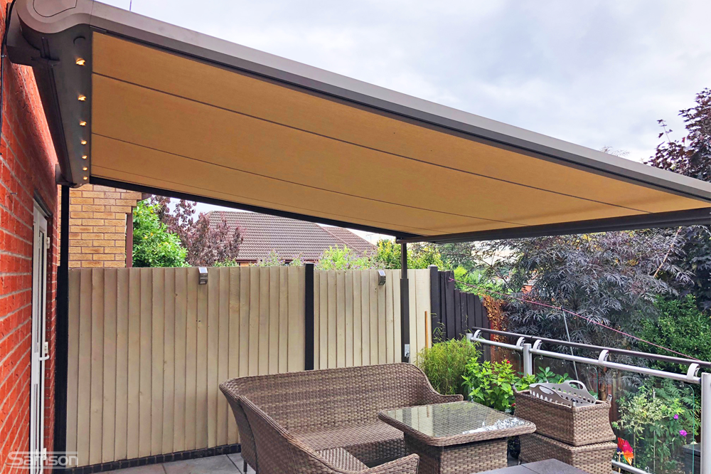 Cream Retractable Roof System