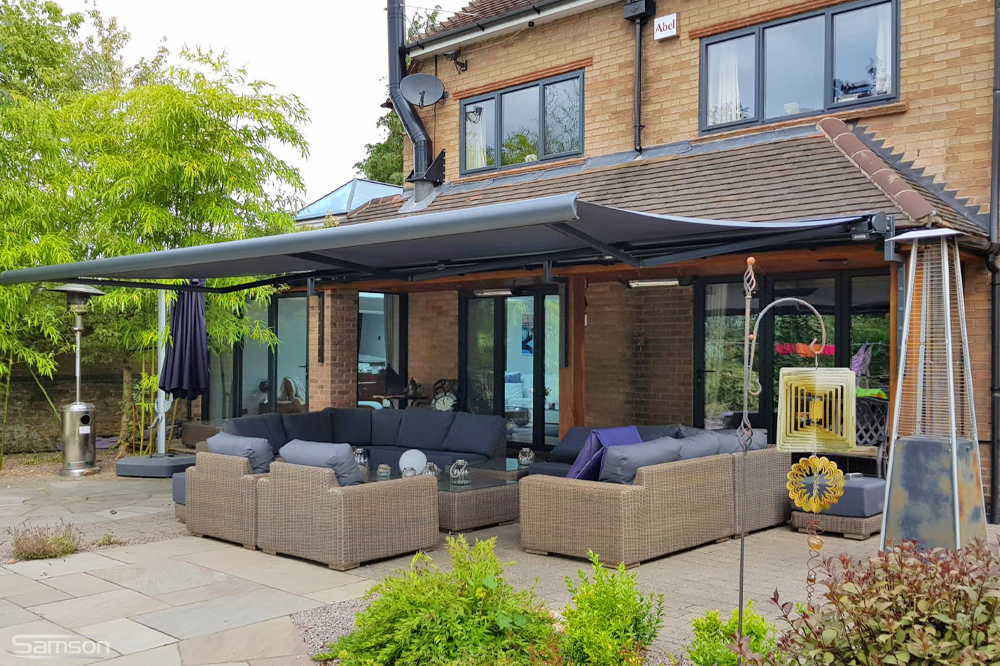 Large Patio Retractable Awning