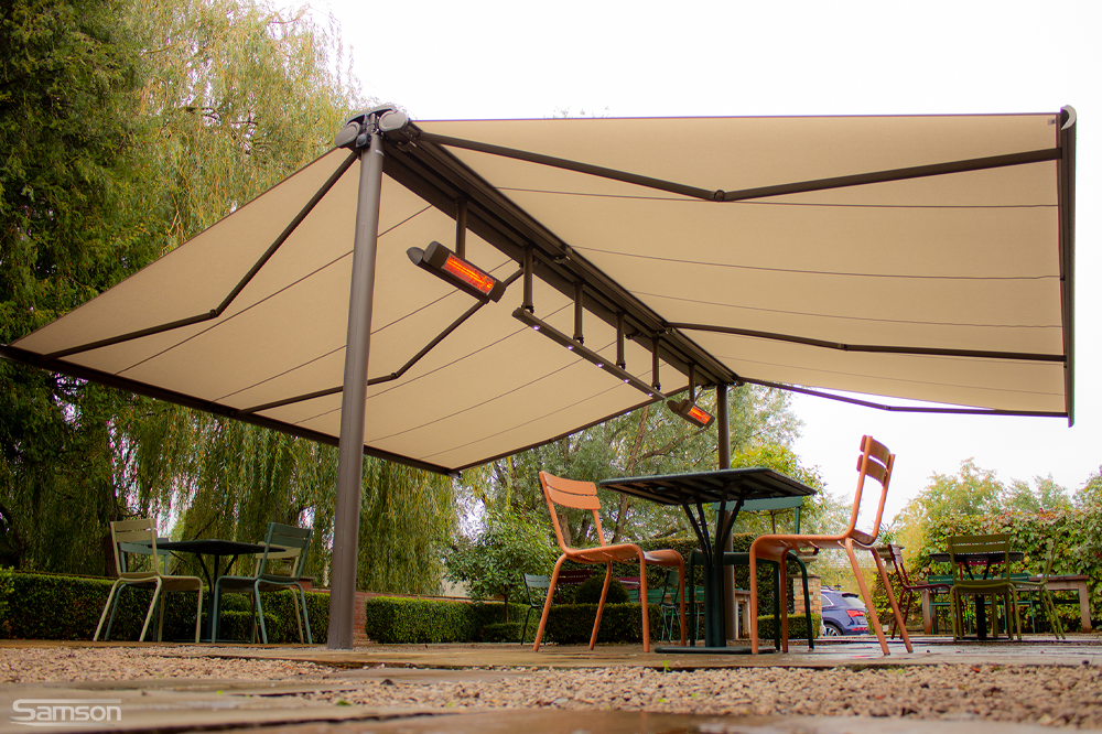 Butterfly Awning for Pub Garden