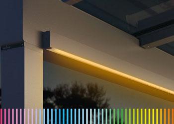 Atmospheric LED Lighting