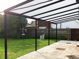 Fixed Roof Terrace Cover